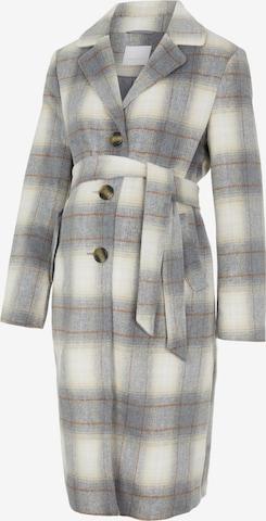 MAMALICIOUS Between-Seasons Coat in Grey