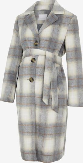 MAMALICIOUS Manteau mi-saison en beige / marron / gris, Vue avec produit