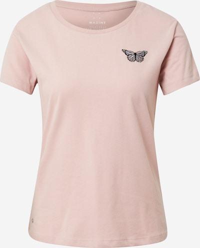mazine Shirt 'Dixie' in de kleur Pastelroze / Zwart, Productweergave
