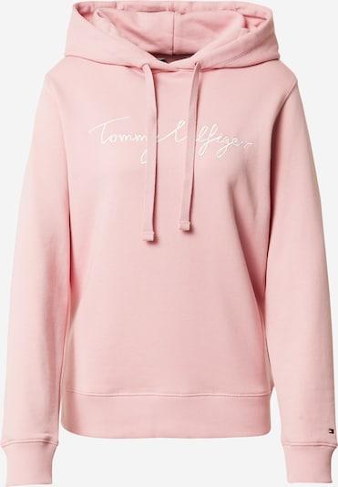 TOMMY HILFIGER Sweatshirt en rose clair / blanc, Vue avec produit