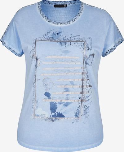 Thomas Rabe Shirt in blau / hellblau / silber, Produktansicht