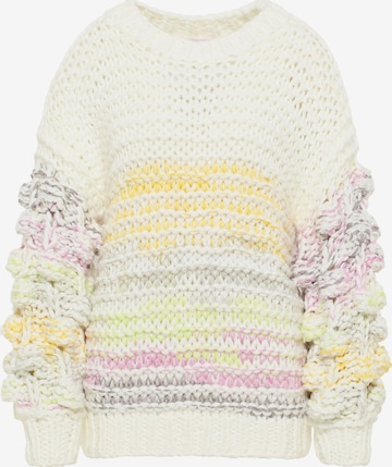 MYMO Oversized Sweater in White