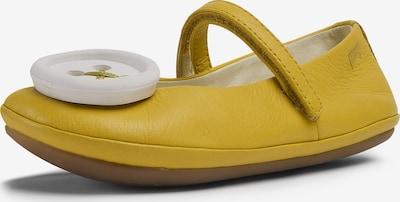 CAMPER Ballerina in gelb / weiß, Produktansicht