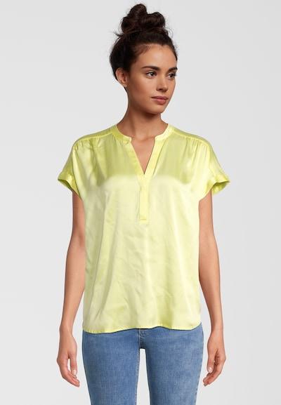 PRINCESS GOES HOLLYWOOD Seidenbluse in gelb, Modelansicht