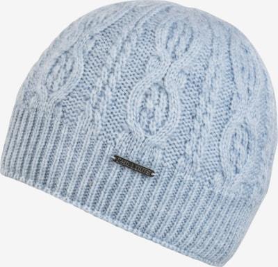 Megzta kepurė 'Valery' iš chillouts , spalva - šviesiai mėlyna, Prekių apžvalga