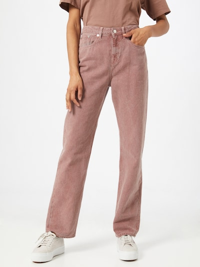 MUD Jeans Jeans 'Relax Rose' in braun, Modelansicht