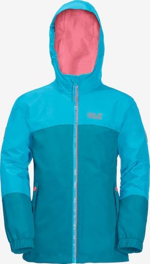 JACK WOLFSKIN Outdoorjacke 'ICELAND' in blau, Produktansicht