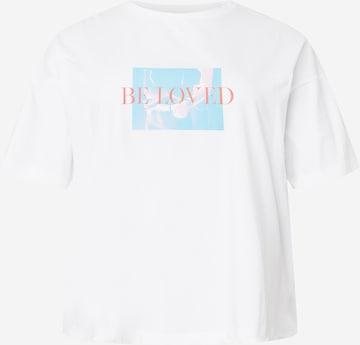 Maglietta 'Be Loved' di NU-IN Plus in bianco