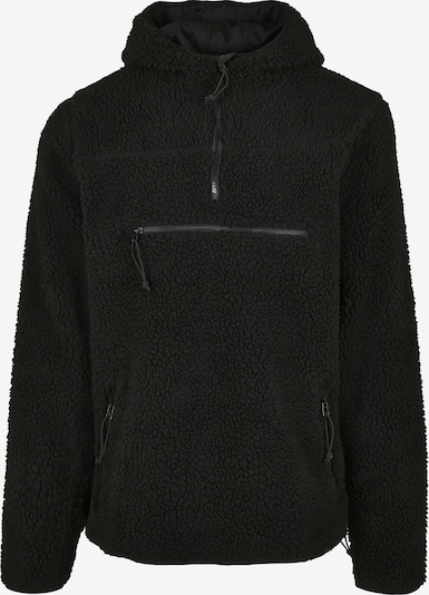 Brandit Jacke 'Teddyfleece Worker' in schwarz, Produktansicht