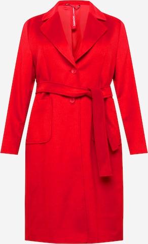 SAMOON Välikausitakki värissä punainen