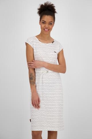 Alife and Kickin Dress 'Melli' in White
