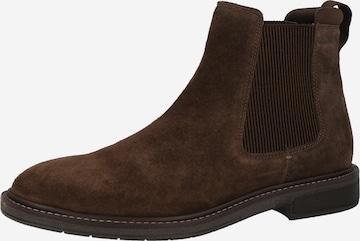 Chelsea Boots 'Clarkdale Hall' CLARKS en marron