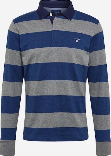GANT Poloshirt in blaumeliert / graumeliert, Produktansicht