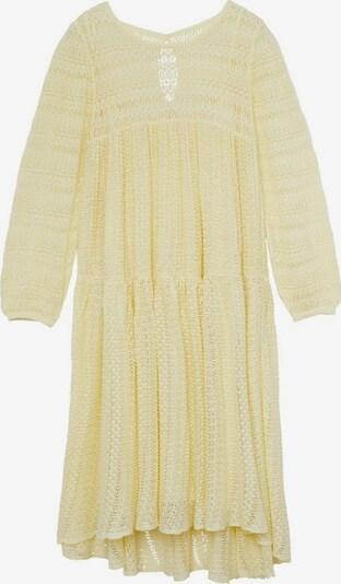 MANGO Kleid `marie´ in hellgelb, Produktansicht