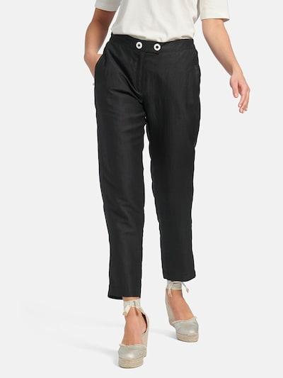 Basler Hose in schwarz, Modelansicht