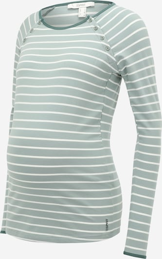 Esprit Maternity Shirt in Green / White, Item view