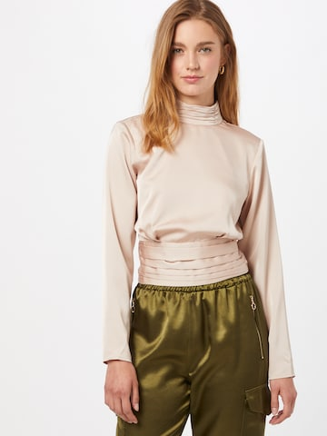 Gina Tricot Blouse 'Cass' in Beige