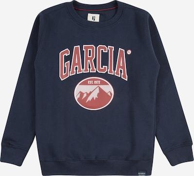 GARCIA Sweatshirt in de kleur Donkerblauw / Kreeft / Wit, Productweergave