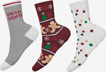 NAME IT Socken 'Rensdine' in Mischfarben