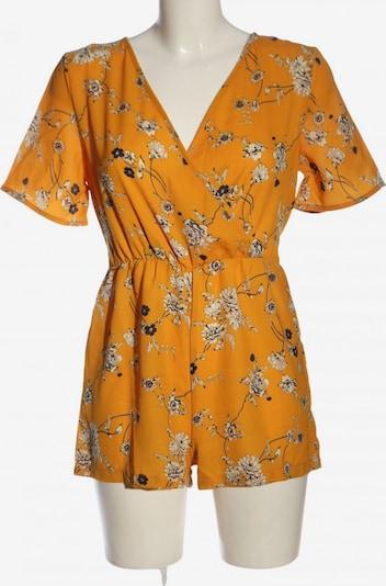 Boohoo Jumpsuit in M in Light orange / Black / Wool white, Item view