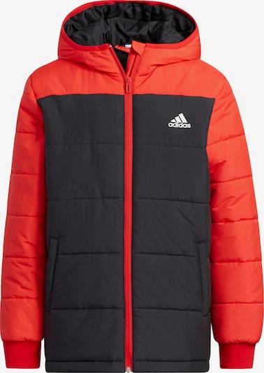 ADIDAS PERFORMANCE Sportjas in de kleur Rood / Zwart, Productweergave