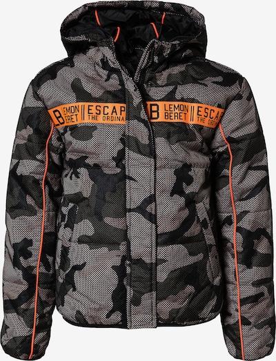 LEMON BERET Zimní bunda - písková / khaki / svítivě oranžová, Produkt
