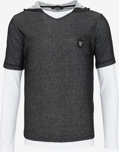 CIPO & BAXX Shirt '2-In-1 Classic' in de kleur Zwart, Productweergave
