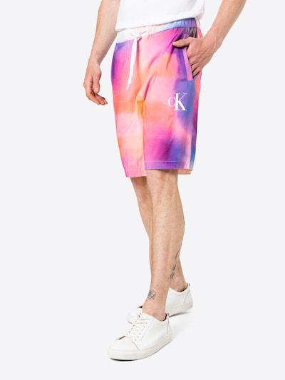 vegyes színek Calvin Klein Jeans Nadrág 'PRIDE', Modell nézet
