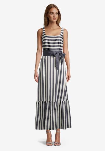 Vera Mont Abendkleid in grau / weiß, Modelansicht
