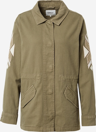 ONLY Between-Season Jacket 'NOLA' in Khaki / White, Item view