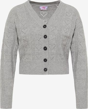 MYMO Knit Cardigan in Grey