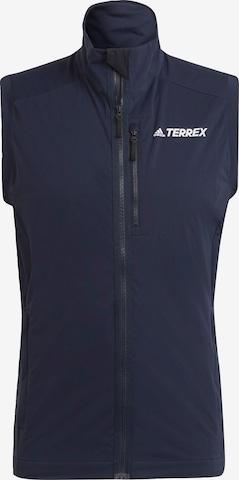 adidas Terrex Skilanglaufweste 'TERREX Xperior' in Blau