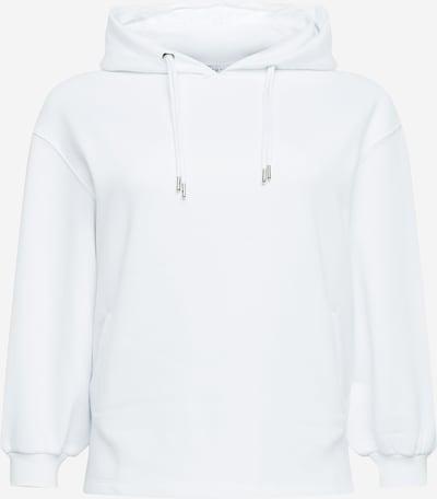 Bluză de molton 'Double Drawcord' NU-IN Plus pe alb, Vizualizare produs