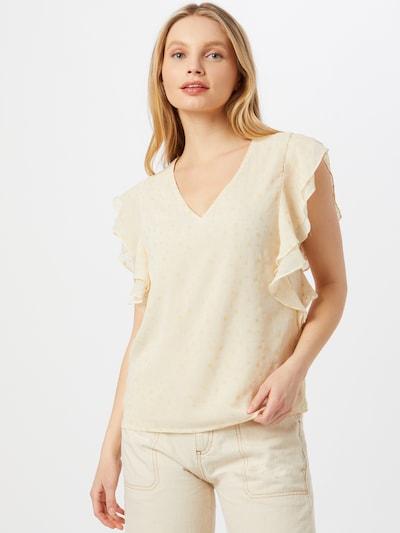 OBJECT Blouse 'Tarsa' in de kleur Beige / Eierschaal, Modelweergave