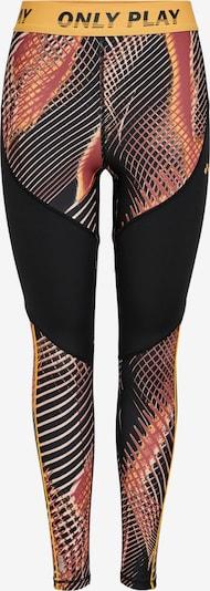 ONLY PLAY Spodnie sportowe 'MARLIN' w kolorze pomarańczowy / homarowy / czarny / białym, Podgląd produktu