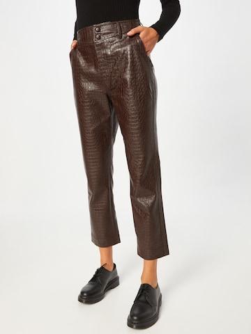 Pantaloni con pieghe 'Alivia' di Twist & Tango in marrone