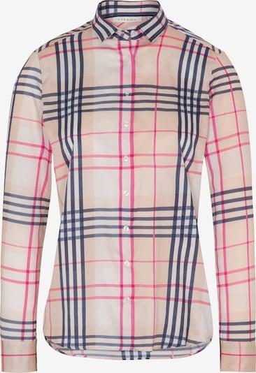 ETERNA Bluse in beige / nude / dunkelblau / pink, Produktansicht