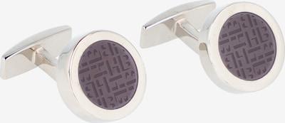BOSS Casual Manchetknopen in de kleur Donkerlila / Zilver, Productweergave