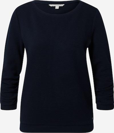 TOM TAILOR DENIM Sweatshirt in nachtblau, Produktansicht