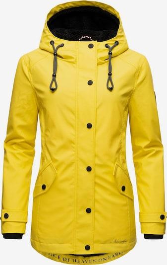NAVAHOO Regenjacke 'Lindraa' in gelb, Produktansicht