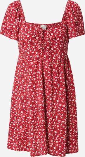 American Eagle Φόρεμα σε κόκκινο / λευκό, Άποψη προϊόντος