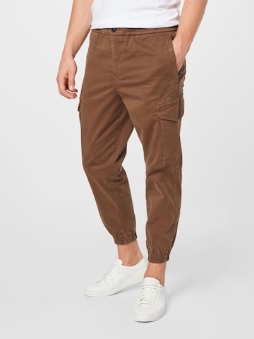 BOSS Casual Cargo Pants 'Seiland' in Green
