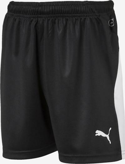 PUMA Fußball Kinder LIGA Shorts in schwarz, Produktansicht