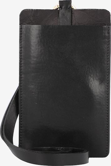 b.belt Handmade in Germany Handytasche in schwarz, Produktansicht