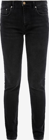 s.Oliver BLACK LABEL Skinny Fit: Schwarze Slim leg-Jeans in schwarz, Produktansicht