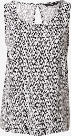 Tricou 'SIMPLY' VERO MODA pe negru / alb, Vizualizare produs