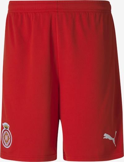 PUMA Sporthose in rot / weiß, Produktansicht