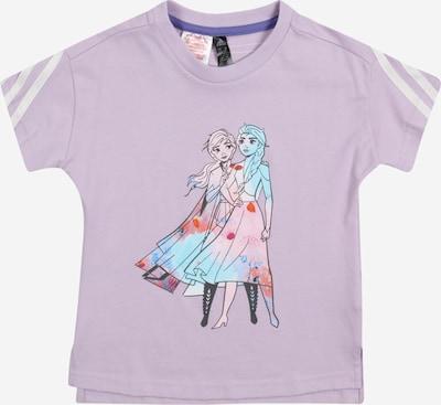 ADIDAS PERFORMANCE Camiseta funcional en turquesa / grafito / lila claro / rosa / blanco, Vista del producto