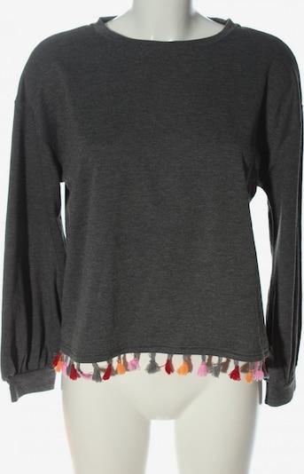 SheIn Sweatshirt in L in hellgrau / pink / rot, Produktansicht