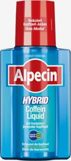 Alpecin Conditioner 'Hybrid Coffein Liquid' in blau / rot / weiß, Produktansicht